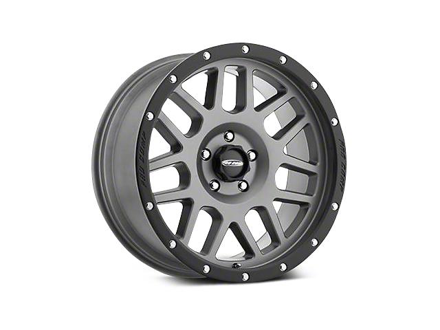 Pro Comp Alloy Series 40 Vertigo Matte Graphite Wheels (07-18 Jeep Wrangler JK; 2018 Jeep Wrangler JL)
