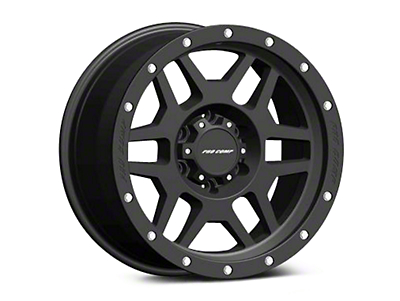 Pro Comp Alloy Series 41 Phaser Satin Black Wheels (07-18 Wrangler JK; 2018 Wrangler JL)