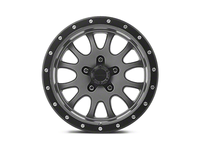 Pro Comp Alloy Series 44 Syndrome Matte Graphite Wheels (07-18 Jeep Wrangler JK; 2018 Jeep Wrangler JL)
