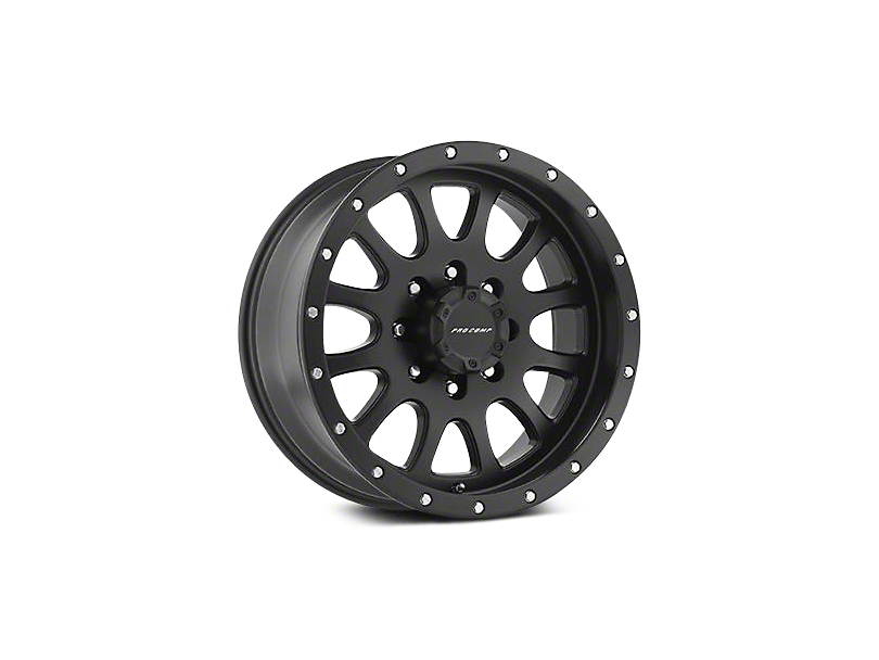 Pro Comp Series 44 Satin Black Wheels (07-18 Wrangler JK)