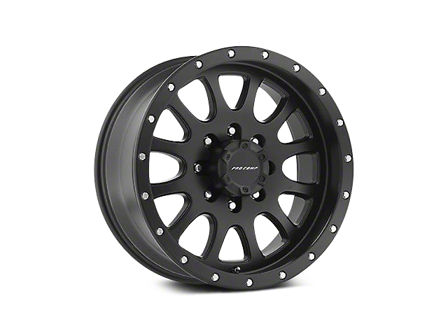 Pro Comp Alloy Series 44 Syndrome Satin Black Wheels (07-18 Wrangler JK; 2018 Wrangler JL)