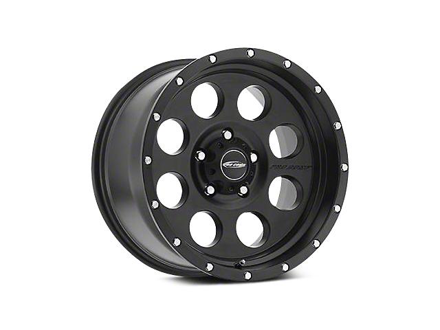 Pro Comp Alloy Series 45 Proxy Satin Black Wheels (07-18 Wrangler JK; 2018 Wrangler JL)