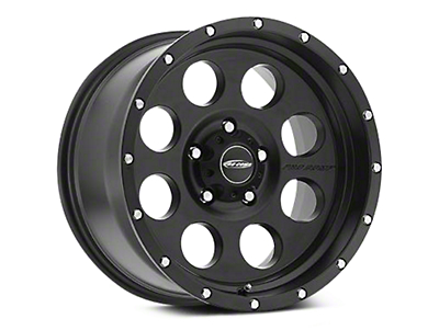 Pro Comp Alloy Series 45 Proxy Satin Black Wheels (07-18 Wrangler JK; 2018 Wrangler JL)
