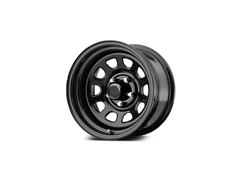 Pro Comp Steel Series 51 District Gloss Black Wheels (07-18 Wrangler JK; 2018 Wrangler JL)