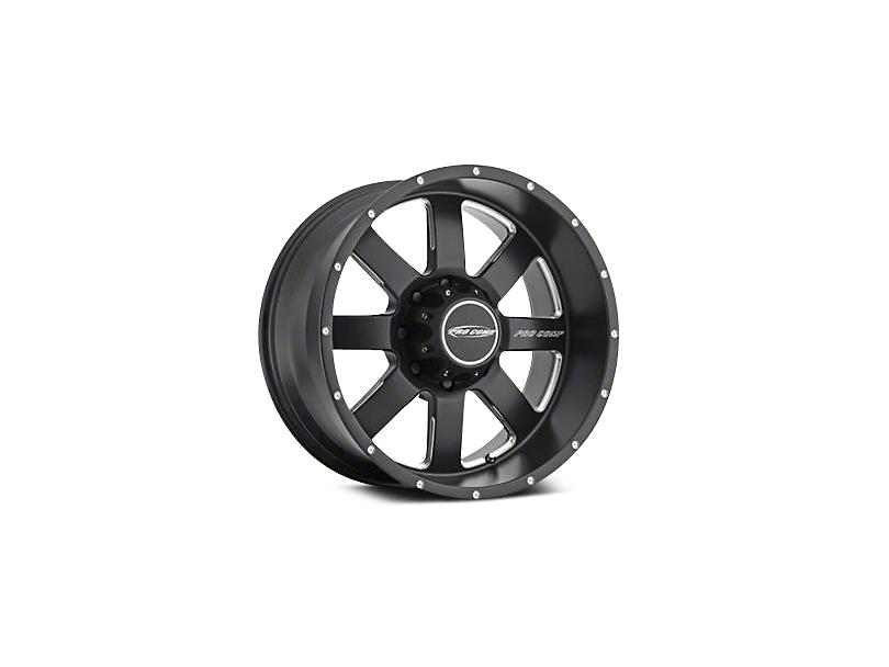Pro Comp Alloy Series 83 Vapor Satin Black Milled Wheels (07-18 Jeep Wrangler JK; 2018 Jeep Wrangler JL)
