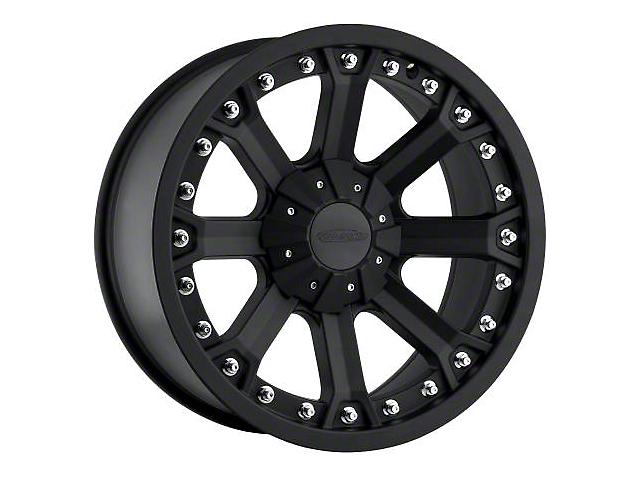 Pro Comp Alloy Series 7033 Flat Black Wheels (07-18 Jeep Wrangler JK; 2018 Jeep Wrangler JL)