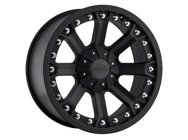 Pro Comp Alloy Series 7033 Flat Black Wheels (07-18 Wrangler JK; 2018 Wrangler JL)