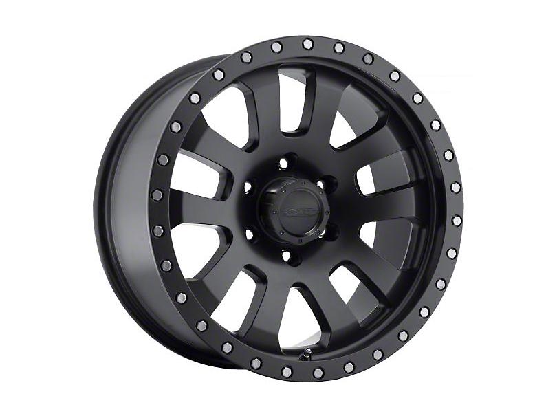Pro Comp Alloy Series 7036 Black Wheels (07-18 Wrangler JK; 2018 Wrangler JL)