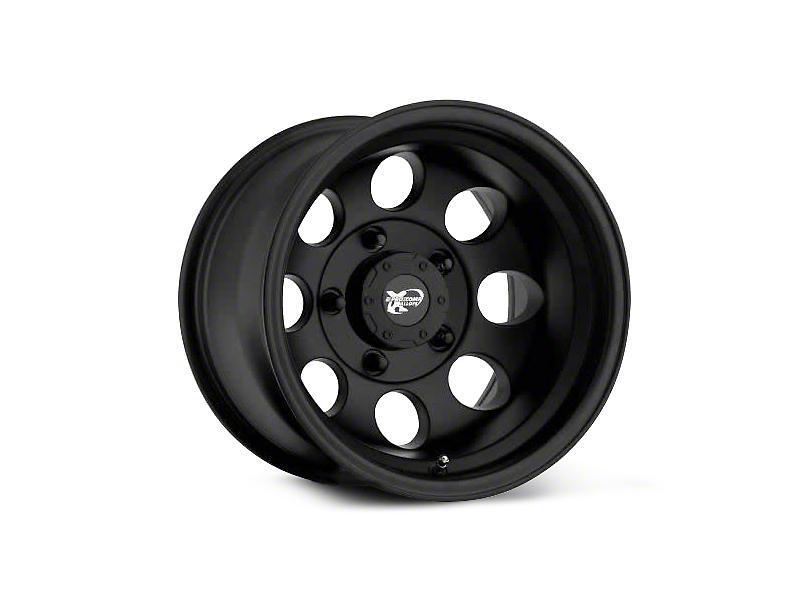 Pro Comp Alloy Series 7069 Flat Black Wheels (07-18 Wrangler JK; 2018 Wrangler JL)