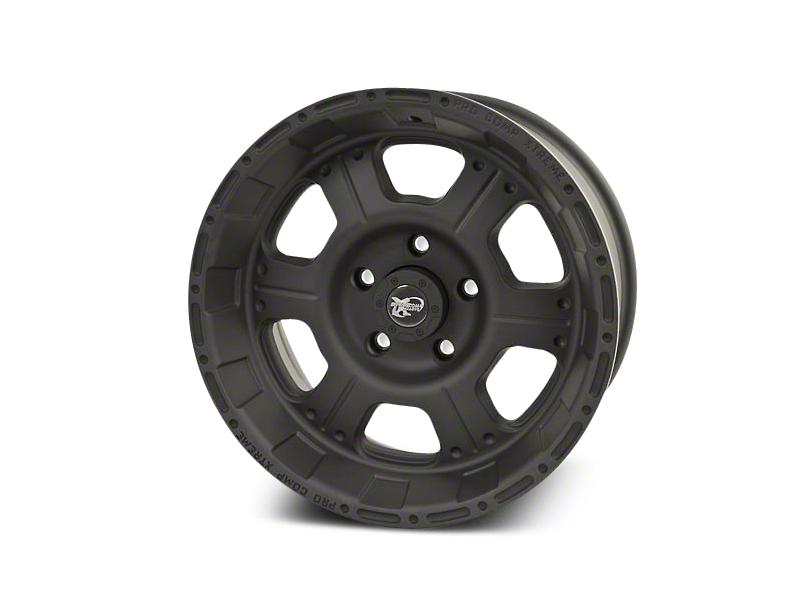 Pro Comp Alloy Series 7089 Flat Black Wheels (07-18 Wrangler JK; 2018 Wrangler JL)