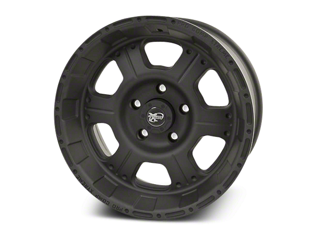 Pro Comp Wheels Jeep Wrangler Alloy Series 7089 Flat Black Wheels