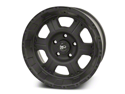 Pro Comp Alloy Series 7089 Flat Black Wheels (07-18 Wrangler JK; 2018 Wrangler JL)