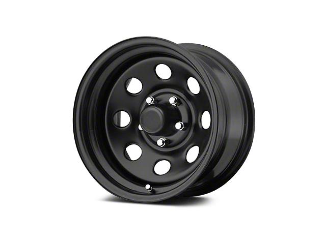 Pro Comp Steel Series 97 Flat Black Wheels (07 18 Jeep Wrangler JK; 2018 Jeep  Wrangler JL)