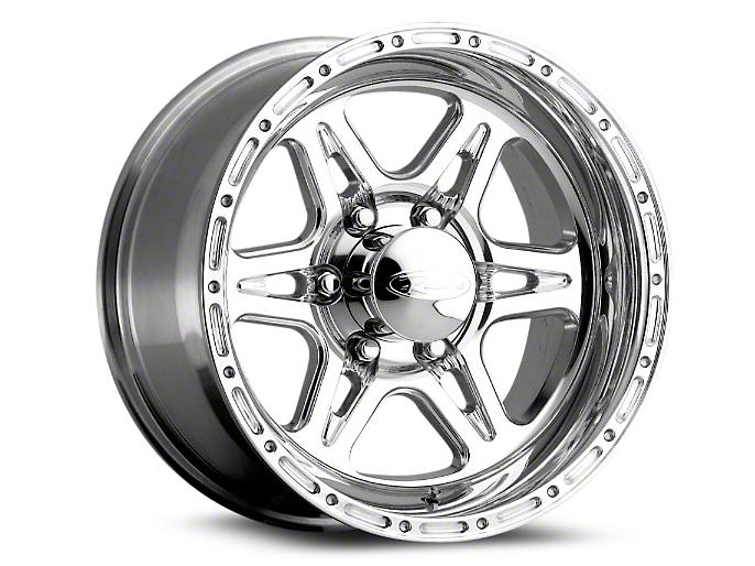 Raceline Renegade Polished Wheels (07-18 Wrangler JK; 2018 Wrangler JL)