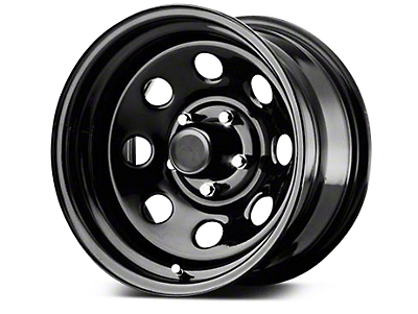Pro Comp Steel Series 97 Gloss Black Wheels (07-18 Wrangler JK; 2018 Wrangler JL)