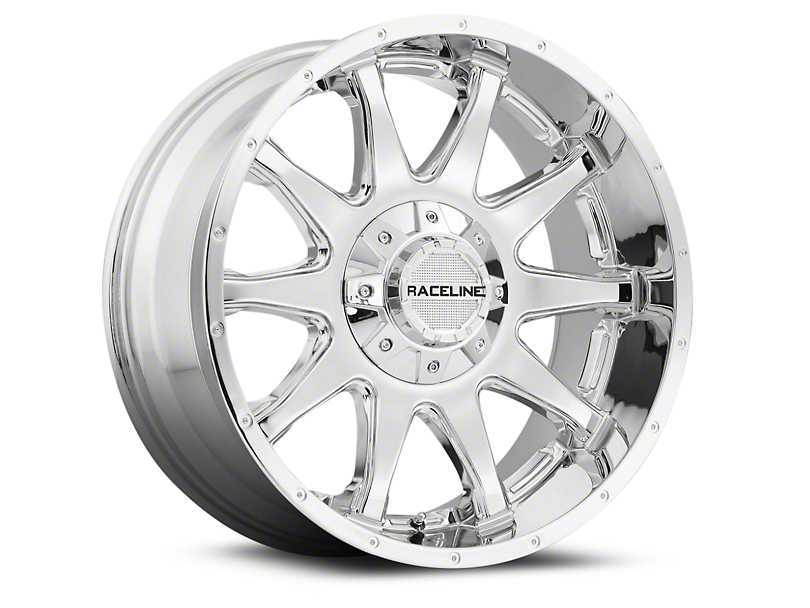 Raceline 930C Shift Chrome Wheels (07-18 Wrangler JK; 2018 Wrangler JL)