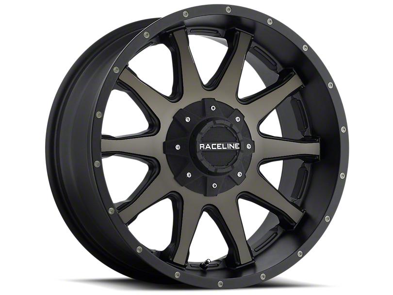 Raceline 930DM Shift Matte Black Wheels (07-18 Wrangler JK)