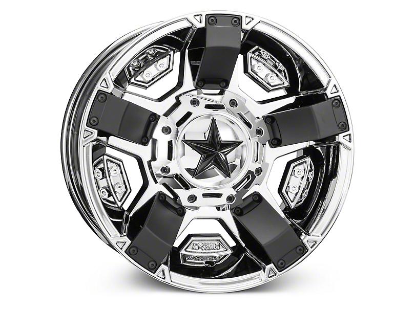 Rockstar XD811 RS2 Chrome Wheels (07-18 Wrangler JK)