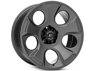 Rugged Ridge Drakon Gunmetal Gray Wheels (07-18 Wrangler JK; 2018 Wrangler JL)