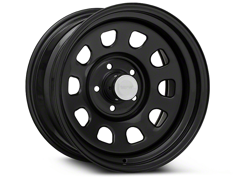 Rugged Ridge Steel Gloss Black Wheels (07-18 Jeep Wrangler JK; 2018 Jeep Wrangler JL)