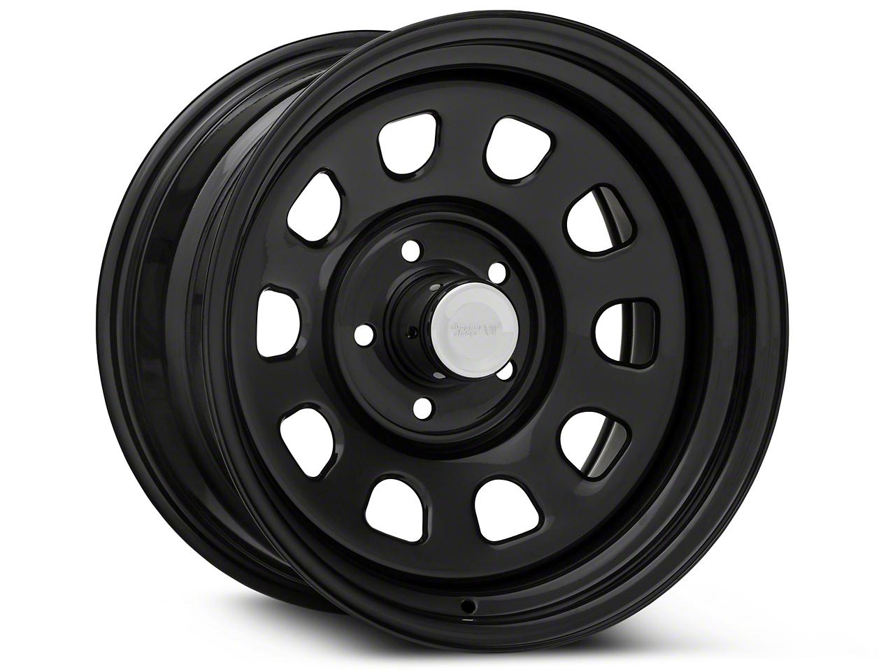 Rugged Ridge Steel Gloss Black Wheels (07-18 Wrangler JK; 2018 Wrangler JL)