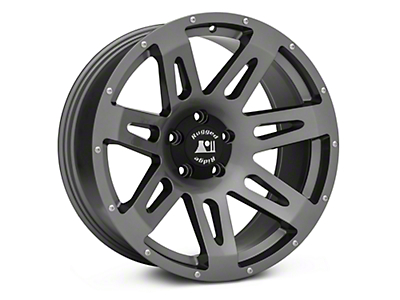 Rugged Ridge XHD Gun Metal Gray Wheels (07-18 Wrangler JK; 2018 Wrangler JL)