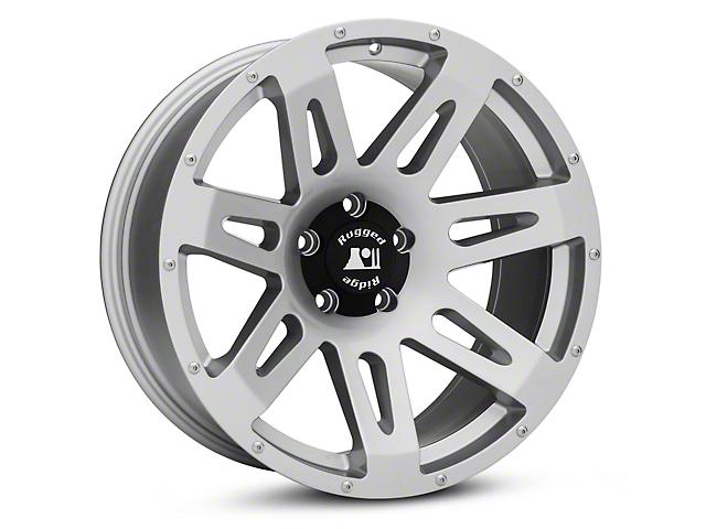 Rugged Ridge XHD Silver Wheels (07-18 Wrangler JK)