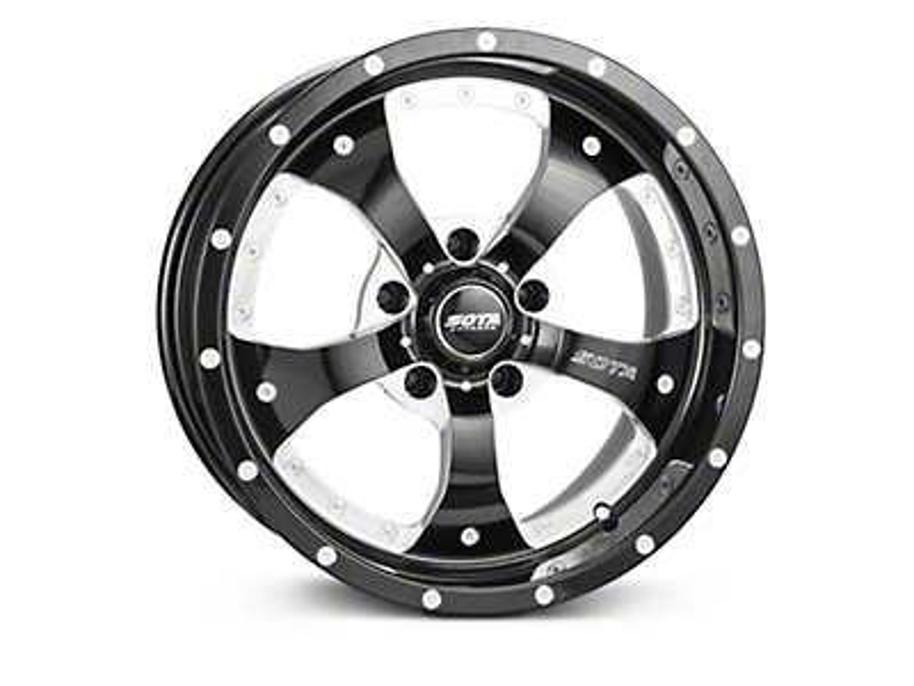 SOTA Off Road Novakane Death Metal Wheels (07-18 Wrangler JK; 2018 Wrangler JL)