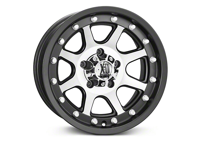 SOTA Off Road XD Addict Matte Black Machined Wheels (07-18 Wrangler JK)