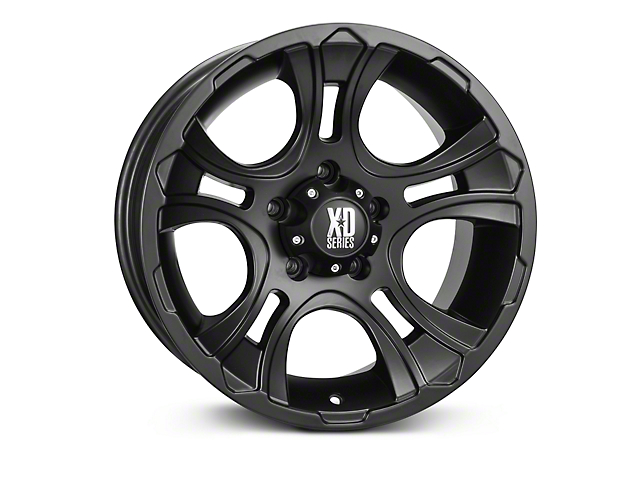 XD Crank Matte Black Wheels (07-18 Wrangler JK)