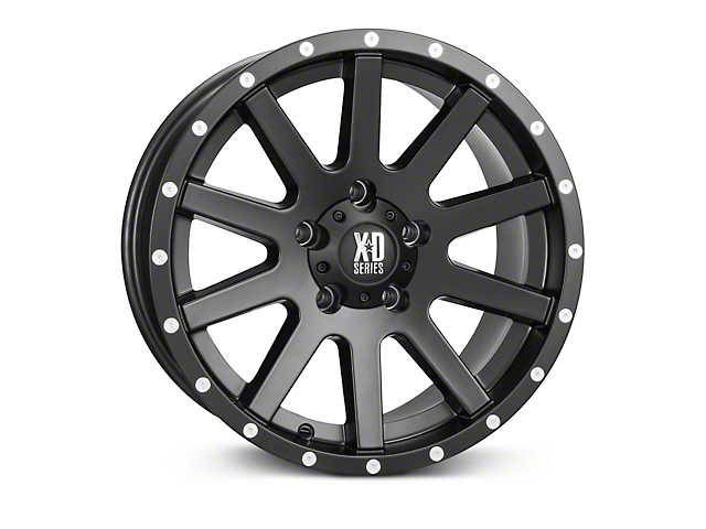 XD Heist Black Wheels (07-18 Wrangler JK)