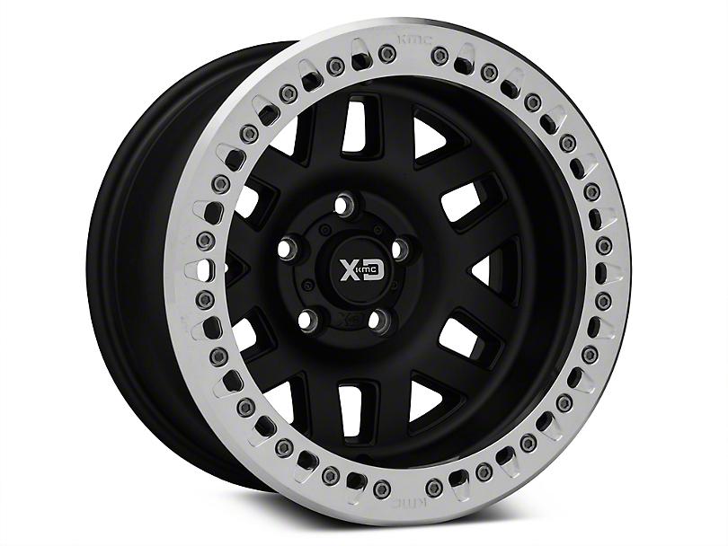 XD Machete Crawl Black Machined Wheels (07-18 Wrangler JK)