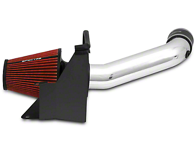 Spectre Performance Cold Air Intake - Polished (07-11 3.8L Wrangler JK)