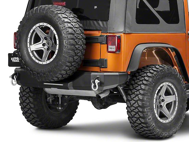 Magnum Rear Bumper (07-18 Jeep Wrangler JK)