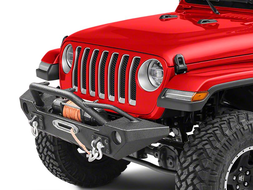 Barricade Alloy Series Aluminum Front Bumper (18-19 Jeep Wrangler JL)