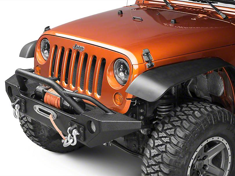 Barricade Alloy Series Aluminum Front Bumper (07-18 Jeep Wrangler JK)