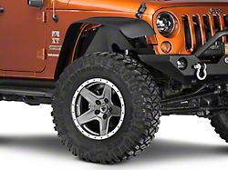 Barricade Aluminum Front Inner Fender Flares - Textured Black (07-18 Jeep Wrangler JK)