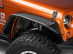 Barricade Tubular Fender Flares; Front and Rear (07-18 Jeep Wrangler JK)