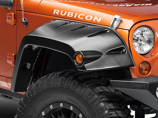 Bushwacker Pocket Flares (07-18 Jeep Wrangler JK)