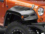 Bushwacker Pocket Style Fender Flares; Matte Black (07-18 Jeep Wrangler JK)