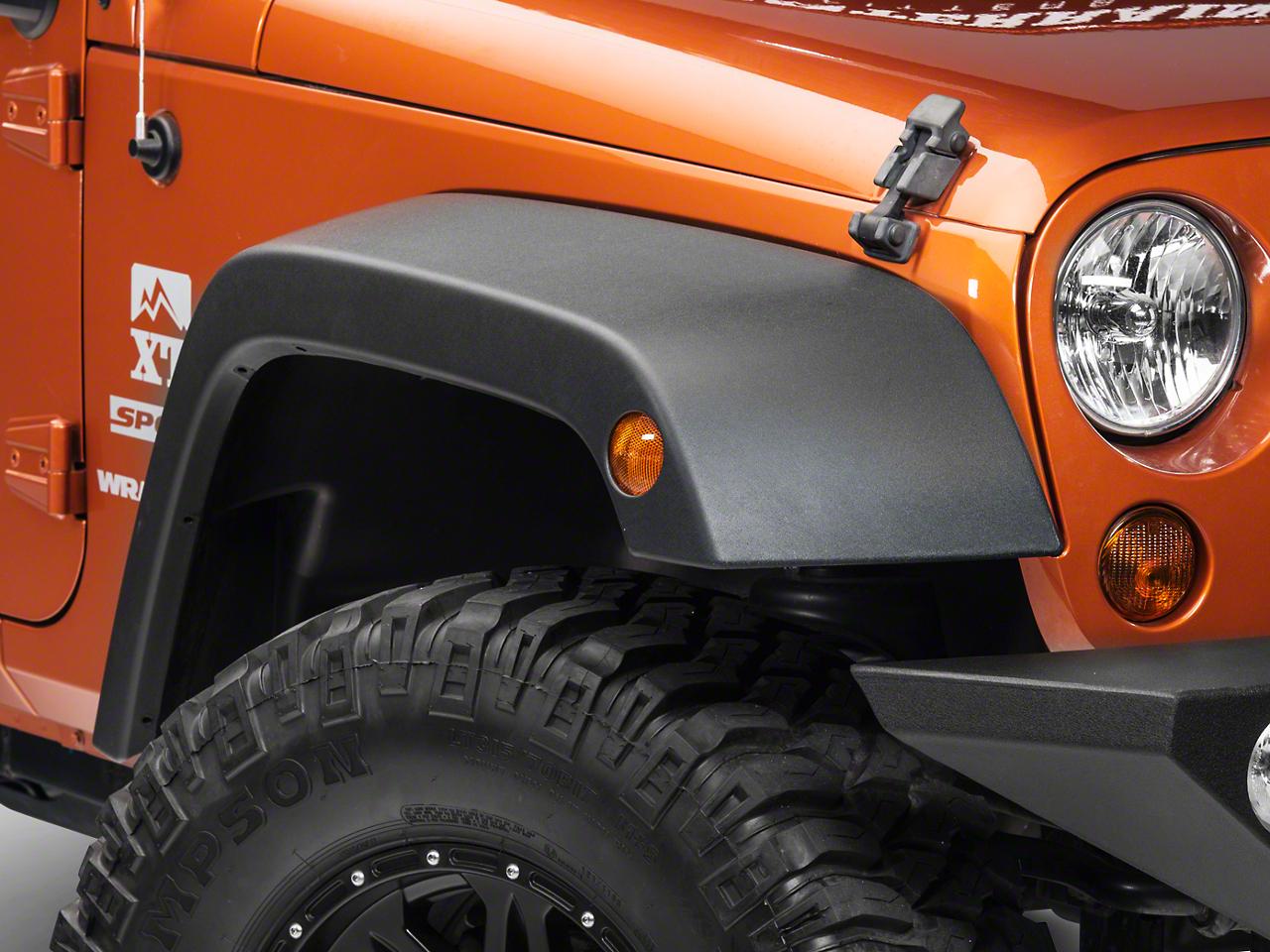 Omix-ADA Fender Flares (07-18 Jeep Wrangler JK)