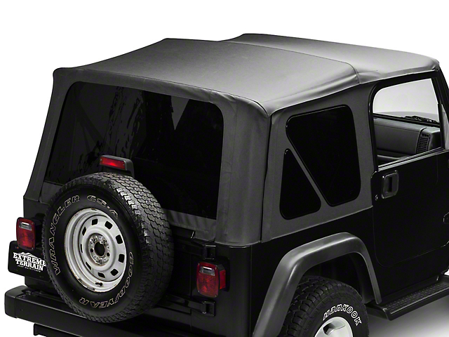Jeep Wrangler Soft Top >> Trushield Jeep Wrangler Replacement Soft Top W Tinted Windows
