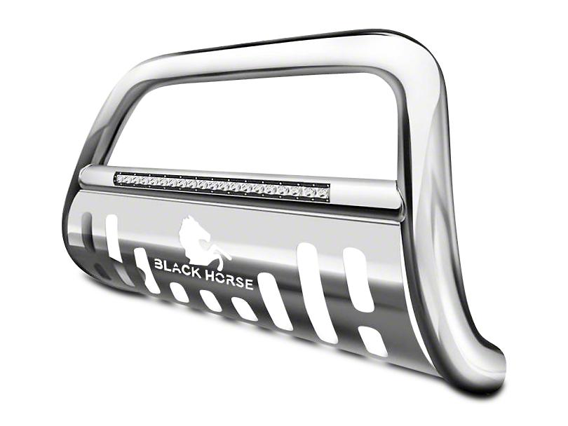 Beacon LED Bull Bar - Stainless Steel (07-18 Jeep Wrangler JK)