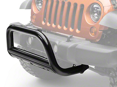 Black Horse Off Road Bull Bar - Black (07-18 Jeep Wrangler JK)
