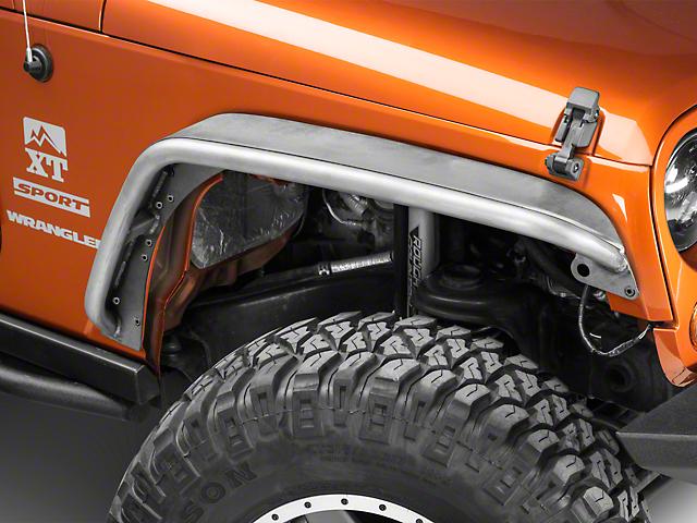 Poison Spyder Narrow Width/Standard Width Crusher Fender Flares - Bare  Steel (07-18 Jeep Wrangler JK)