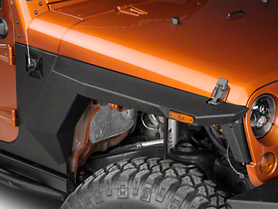Rugged Ridge XHD Steel Body Armor Fender Flares (07-18 Jeep Wrangler JK)