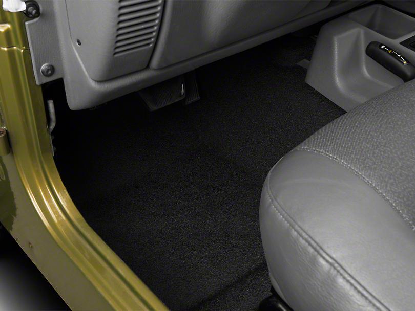 BedRug BedTred Front & Rear Floor Mats (97-06 Jeep Wrangler TJ)