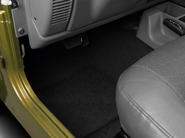 BedRug BedTred Front and Rear Floor Mats (97-06 Jeep Wrangler TJ)