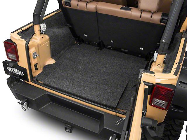 BedRug Cargo Floor Mat (07-18 Jeep Wrangler JK 4 Door)