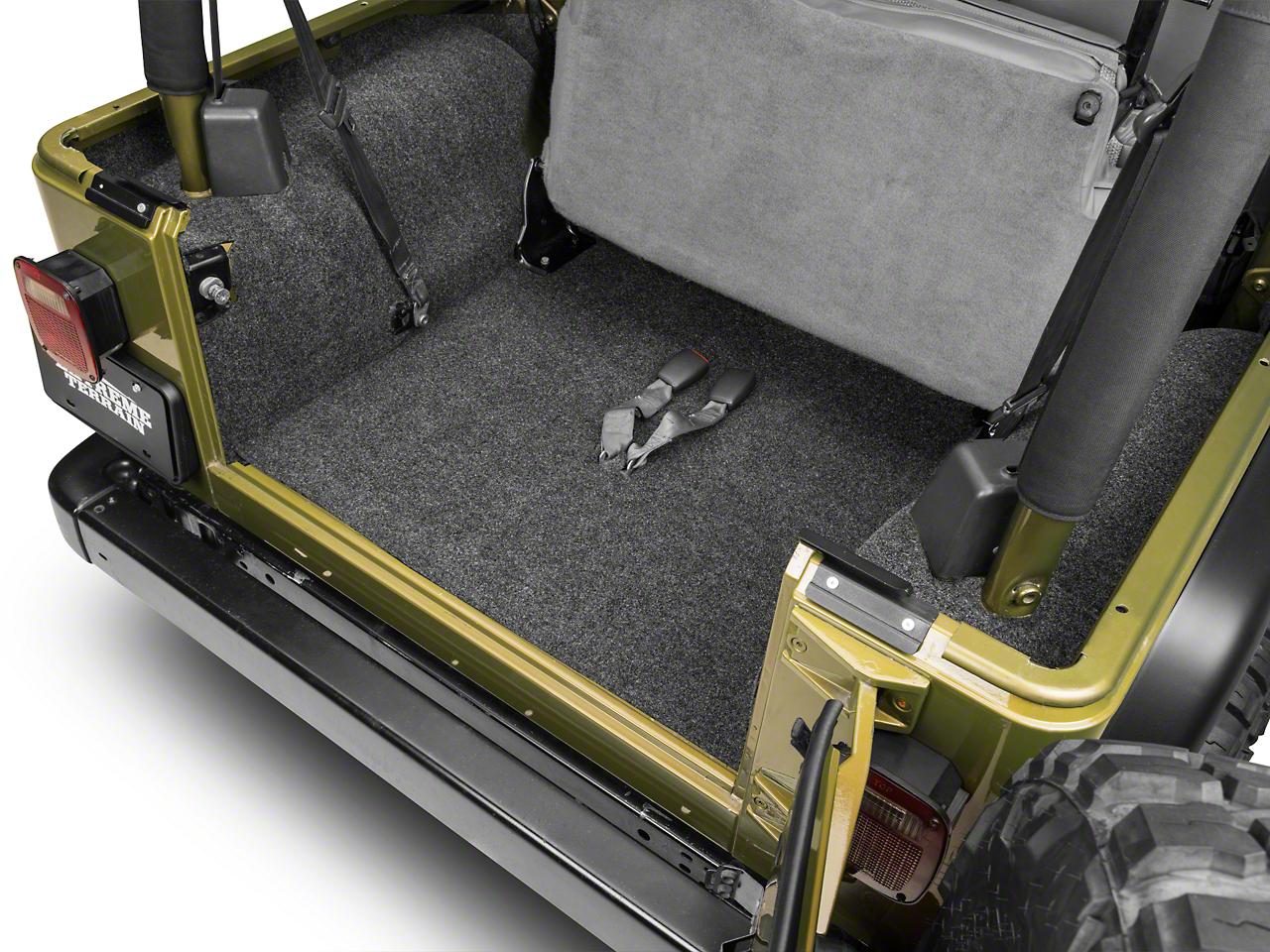 BedRug Cargo Floor Liner (97-06 Jeep Wrangler TJ)